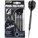 lotki dart TARGET POWER-8 ZERO  Phil Taylor  Black Titanium steel