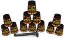 Zestaw kubki Speed Stacks BLACK FLAME 02219